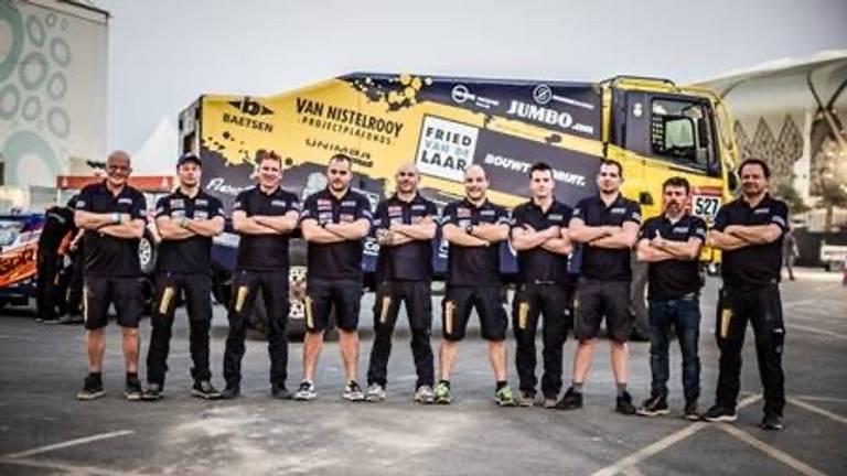 Het Fried van de Laar Racing Team doet niet mee aan de Dakar Rally 2021.