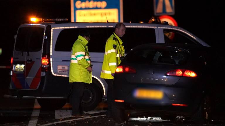 Bij het ongeluk was ook een andere auto betrokken.