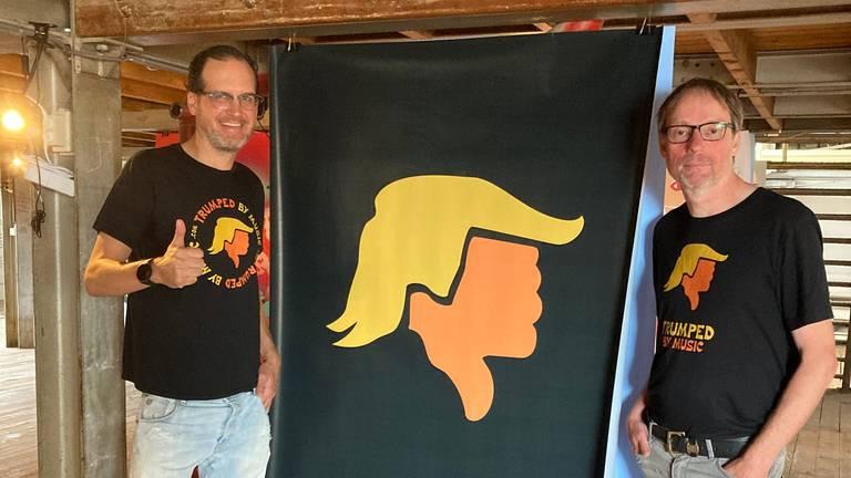David Grover (links) en Frank van Osch (rechts).
