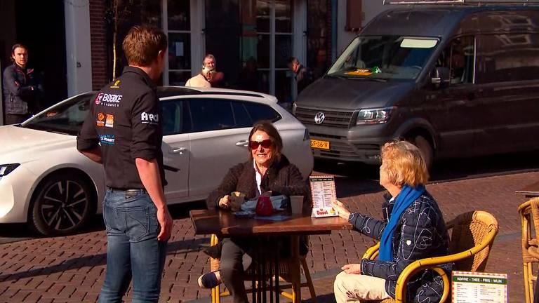 Op het terras in Breda