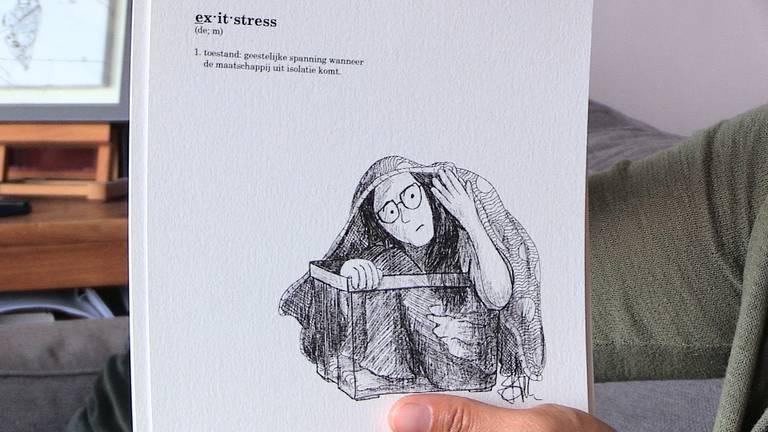 'Exitstress' uit het boekje Microkosmos. (Beeld: Hoi-Shan Mak)