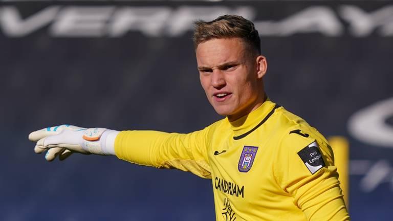 Ex-NAC'er Bart Verbruggen bij Anderlecht.