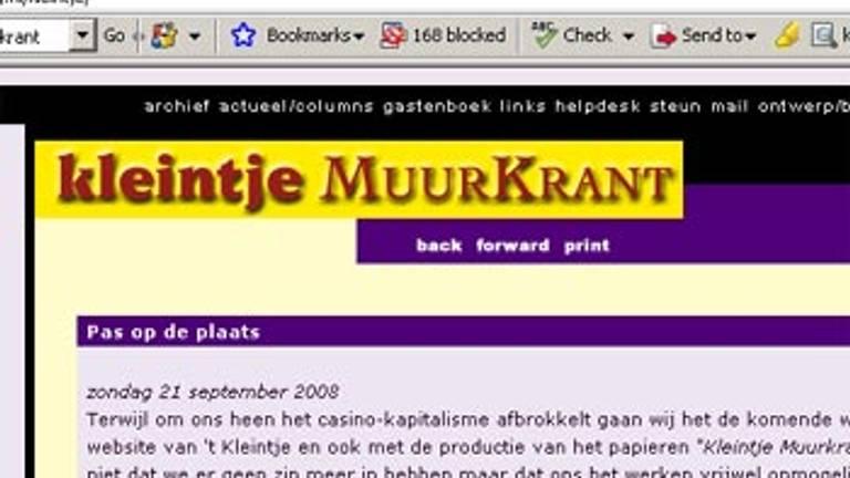 Verwonderlijk Kleintje Muurkrant terug op papier - Omroep Brabant SA-19