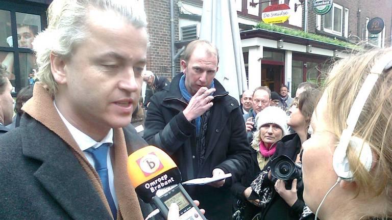 Geert Wilders eerder in Den Bosch.