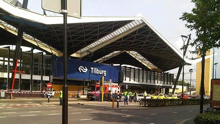 Beveiliger NS mishandeld op station Tilburg