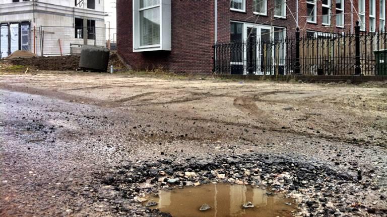 De schop gaat in de grond in Eindhoven. (Archieffoto)
