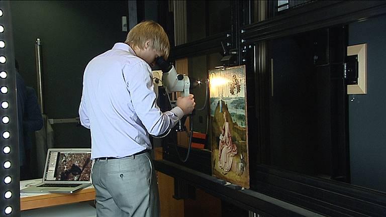 Eerder al werden werken van Jeroen Bosch in Berlijn grondig onderzocht