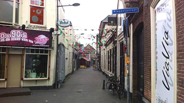 Klappeijstraat in Oosterhout waar de mishandeling plaats vond