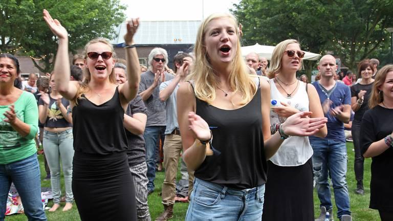 Enthousiast publiek (foto: Karin Kamp)