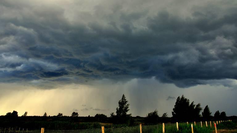Steeds vaker hevige regenbuien. (Archieffoto)