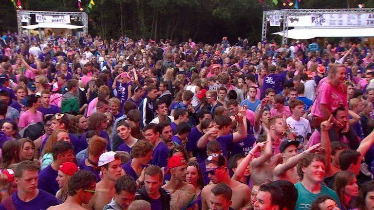 8500 studenten op introductiefeest Fontys Hogescholen (Archieffoto).
