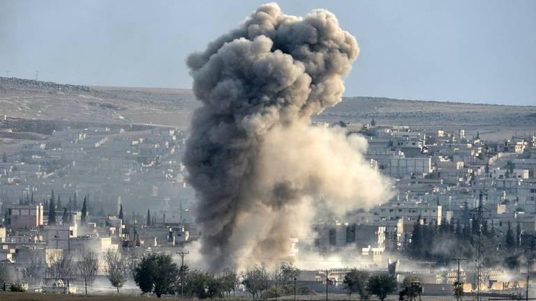 Gevechten in Syrië (archieffoto: ANP)