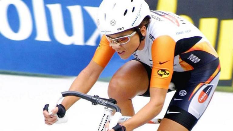 Van Moorsel kwam in 2003 tot een afsfand van 46,065 kilometer. (Foto: ANP)
