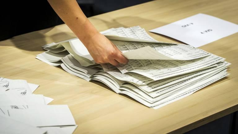 In sommige gemeenten worden de stemmen opnieuw geteld (Foto: ANP)
