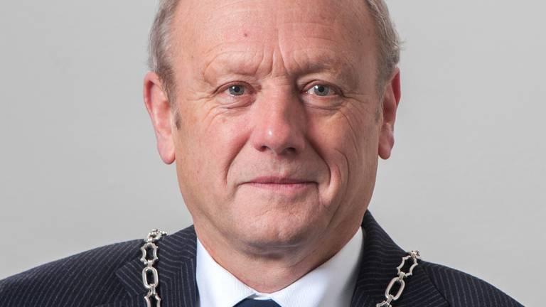 Burgemeester Jan Boelhouwer van Gilze en Rijen. (Archieffoto)
