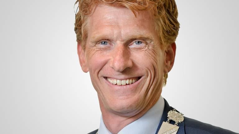 Burgemeester Bakermans van de gemeente Landerd