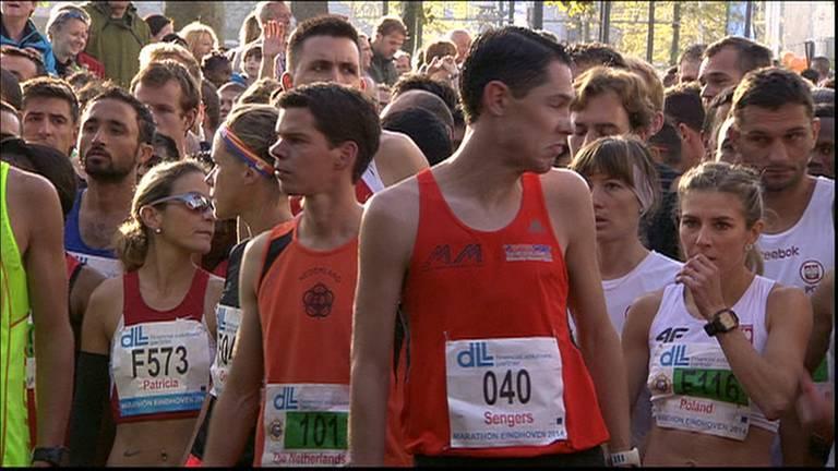 Marathon in Eindhoven voor corona (archieffoto).