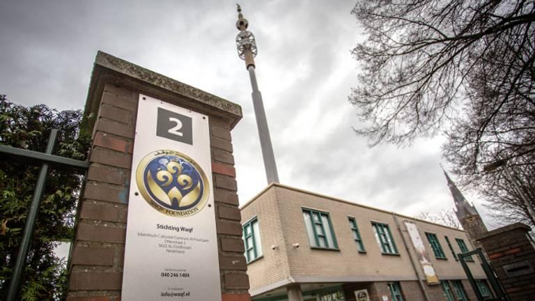 De anti islam beweging Pediga wil maandag voor de deur van de Al-Fourqaan moskee in Eindhoven demonstreren (Foto: Rob Engelaar / Infocus Media)