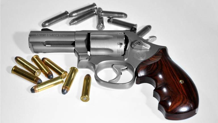 Een revolver. (Foto ter illustratie / archief)