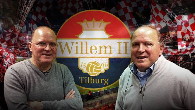 De voetbalbroers Willy en René van de Kerkhof.