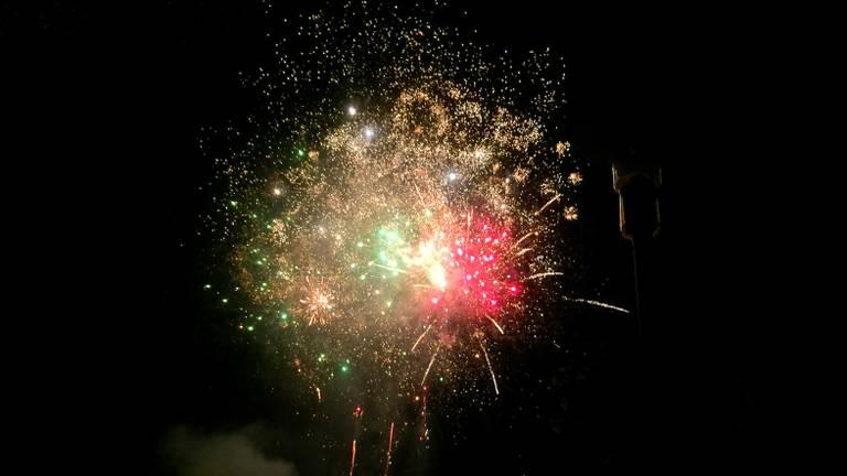 De Tilburgse kermis sluit ook dit jaar weer af met mooi vuurwerk. Foto: Jack Brekelmans/ Persburo BMS