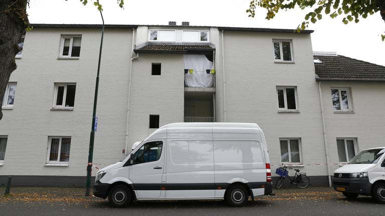 De woning van het slachtoffer in Cuijk (Foto: SK-Media)