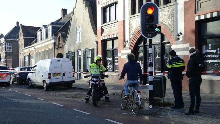 Man gewond bij steekpartij in Tilburg. Foto: Sem van der Wal Fotografie