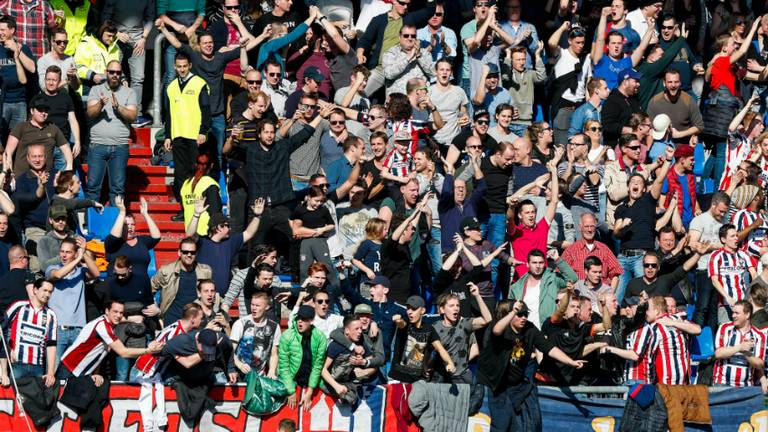 Fans van Willem II (foto: VI Images)