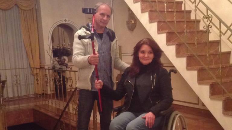 Johan Vlemmix met Anita Smeets. (Foto: privé)