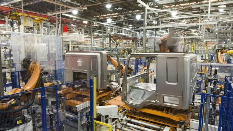 Een kijkje in de productie (foto: DAF Trucks).