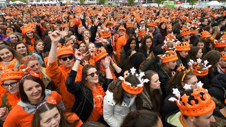 Koningsdag in Breda in 2017 (foto: Erald van der Aa)