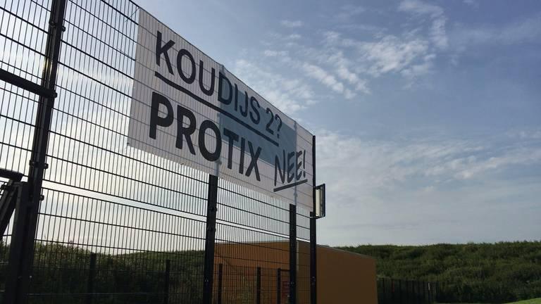 De buurt protesteerde tegen de komst van de fabriek. (Foto: archief)