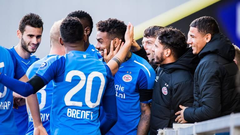 PSV won zondag met 4-2 van Vitesse. (foto: VI Images)