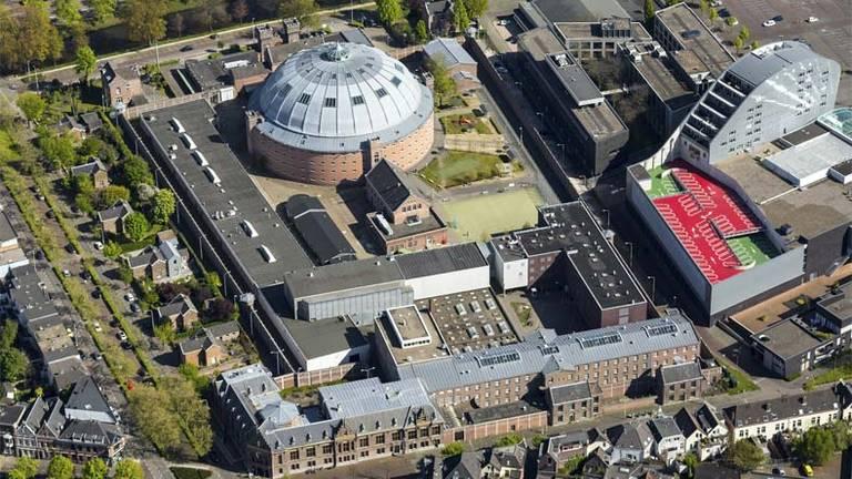 Het is een enorm complex in de Bredase binnenstad. (Foto: VPS)