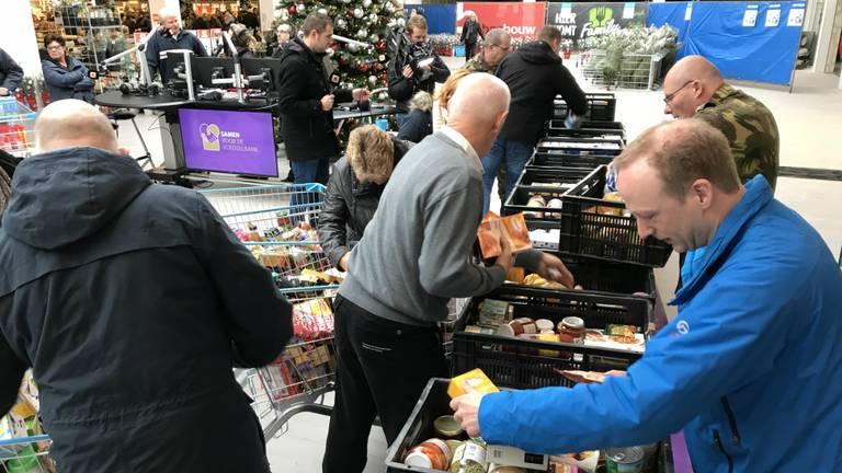 Brabant gaf massaal aan de actie Samen voor de Voedselbank