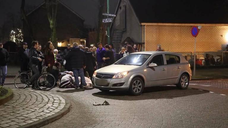 Beeld na het veelbesproken ongeluk in Oss (foto: SQ Vision Mediaprodukties).