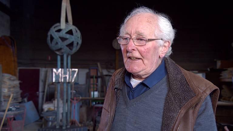 Kunstenaar Toon Heijmans (91) beseft nu de impact van de ramp
