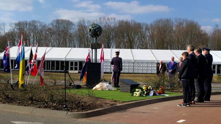 Het MH17-gedenkteken (foto: Ferenc Triki)
