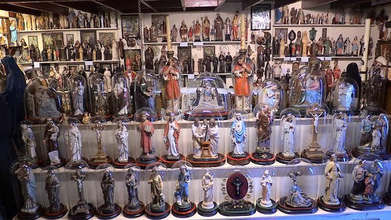 Een deel van de collectie van Frans
