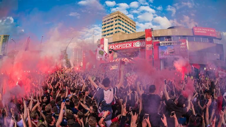 Wat een feest in hartje Eindhoven
