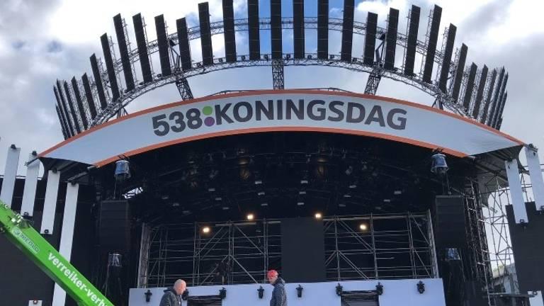 Podium 538 Koningsdag in Breda