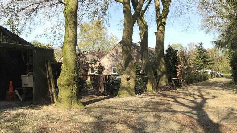 Het huis van Piet en Francien Goossens.