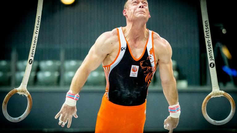 Yuri van Gelder in actie. (Foto: ANP)