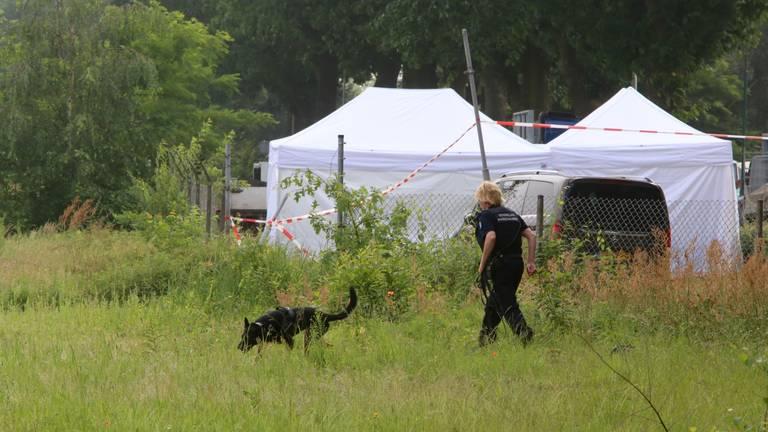 Politie doet onderzoek in de zaak Peter Netten (foto: Hans van Hamersveld).
