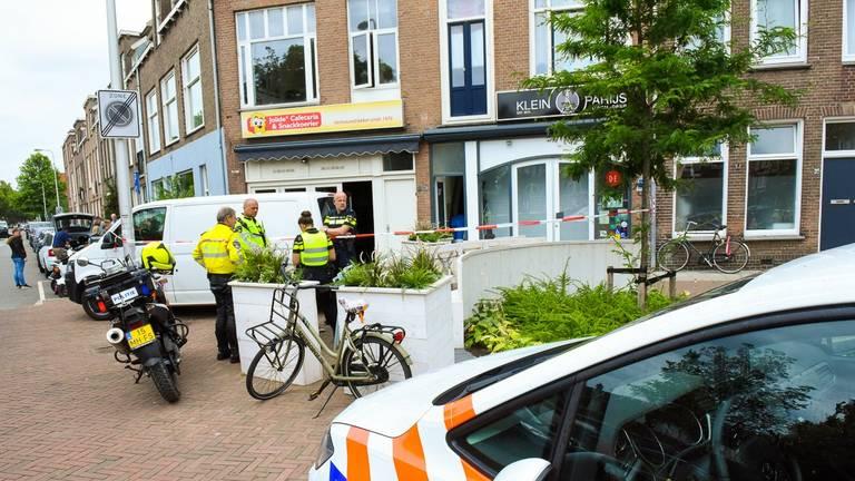 De studente werd gevonden in haar woning in Utrecht. (Foto: Michiel van Beers)