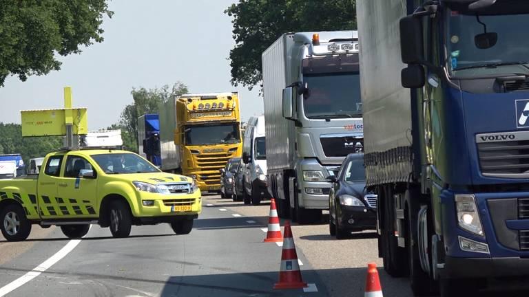 Er gebeuren vaak ongelukken op de A67