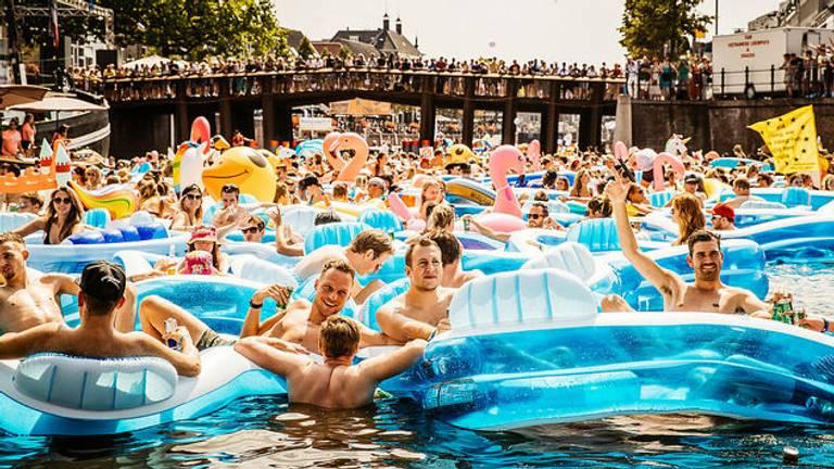 Afkoelen bij Breda Drijft in 2018 (archieffoto: Jesse van Kalmthout).