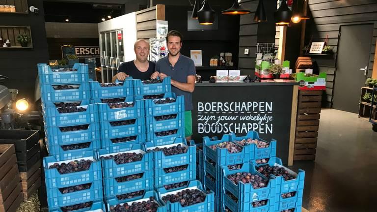 De pruimenredders uit Breda (foto: Merijn Bruijns).