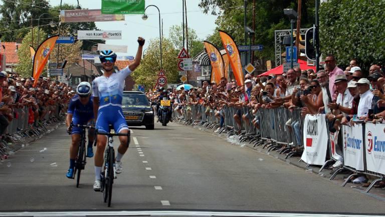 Bij de vrouwen won Marianne Vos voor de achtste keer (Foto: John Kuijsters)