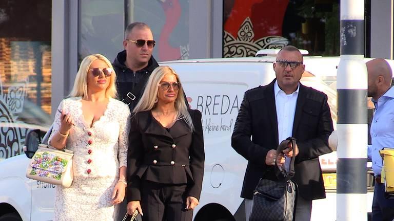 Klaas Otto arriveert bij de rechtbank (Foto: Raymond Merkx).